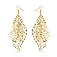 Σκουλαρίκι Leaf Shape Κοσμήματα 1 ζευγάρι Φούντες / Μοντέρνα / Βοημία Style Καθημερινά / Causal Κράμα Γυναικεία Χρυσαφί