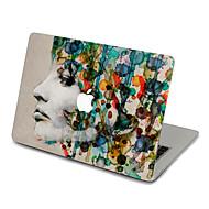 1 pièce Anti-Rayures En Plastique Transparent Décalcomanie Extra Fin / Mat / Motif PourMacBook Pro 15 '' avec Retina / MacBook Pro 15 ''
