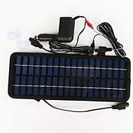pannello solare 3.5W zdm® 12v uscita adattatore di alimentazione caricabatteria per auto silicio monocristallino (DC12-18V)
