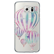 For Samsung Galaxy S7 Edge Etuier Transparent Mønster Bagcover Etui Ballon Blødt TPU for Samsung S7 edge S7 S6 edge plus S6 edge S6 S5 S4