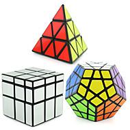 Shengshou® Slät Hastighet Cube Pyraminx / Alien / Megaminx Spegel / professionell nivå Magiska kuber Svart Blekna slät klistermärke