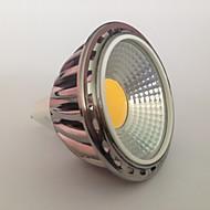 5 GU5.3(MR16) Focos LED MR16 1 COB 450 lm Blanco Cálido Decorativa AC 12 V 1 pieza