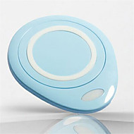 Universal Mobile Wireless Charger ABS Material Portable Mobile Wireless Base Power Adapter