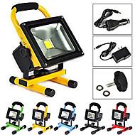 10 ポータブルライト 600-900 lm 温白色 / クールホワイト 集積LED 充電可 / 防水 AC 100-240 V 1枚