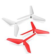 SYMA X5C SYMA X5c X5SC الحرس المروحة RC كوادكوبتر أحمر / أسود / أبيض / أخضر / أصفر بلاستيك 4PCS