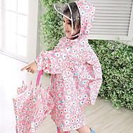 화이트 / 블루 / 핑크 비옷 비오는날 고무 어린이