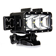 Spot Light LED Wodoszczelna obudowa Wbudowany Lampa błyskowa DlaGopro 5 Gopro 3 Gopro 2 Gopro 3+ Gopro 1 Sport DV SJ4000 SJ5000 SJ6000