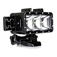 Spot Işık LED Su Geçirmez Kılıff Dahili FLAŞ İçinGopro 5 Gopro 3 Gopro 2 Gopro 3+ Gopro 1 Spor DV SJ4000 SJ5000 SJ6000 SJCAM SJ7000 SJCAM