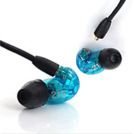 Original SE215 Wired 3.5MM Hi-fi stereo headphones Professional Concert earphone Noise isolate Bass for Samsung S6