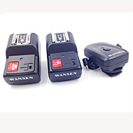 4-en-1 à 4 canaux 433MHz Télécommande sans fil Déclencheur Flash Set pour Canon / Nikon / Pentax Caméra