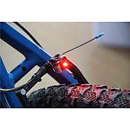 Luci bici luci di sicurezza LED Taglia piccola / Ultraleggero 100 Lumens Batteria LED Nero Ciclismo-Altro