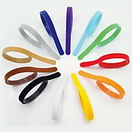 Chat Chien Colliers Tags ID Ajustable/Réglable Arc-en-ciel Multicouleur Nylon