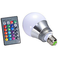 5 E26/E27 Smart LED Glühlampen G95 1 Hochleistungs - LED 450-500 lm lm RGB Dimmbar / Ferngesteuert AC 85-265 V 1 Stück