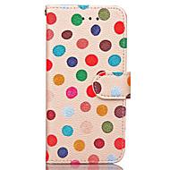 Voor iPhone 7 hoesje / iPhone 7 Plus hoesje / iPhone 6 hoesje Portemonnee / Kaarthouder hoesje Volledige behuizing hoesje Tegels Hard