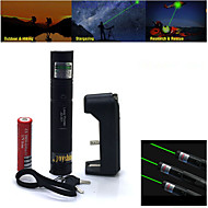 Ze stopu aluminium-Green Laser Pointer-Pen Shaped