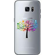 Na Samsung Galaxy S7 Edge Wzór Kılıf Etui na tył Kılıf Drzewo Miękkie TPU Samsung S7 edge / S7 / S6 edge plus / S6 edge / S6