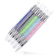 1Pcs Nail Art Sticker escovas de unhas maquiagem Cosméticos Prego Design Arte