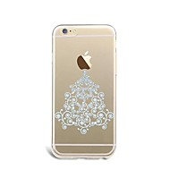 のために iPhone 7ケース / iPhone 6ケース / iPhone 5ケース 超薄型 / パターン ケース バックカバー ケース クリスマス ソフト TPU AppleiPhone 7プラス / iPhone 7 / iPhone 6s Plus/6 Plus