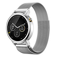 milanese magnetisk loop rustfrit stål band for mænds 42mm moto 360 2nd ur