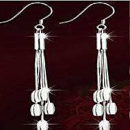 Žene Viseće naušnice Jewelry Kićankama Moda kostim nakit Plastika Glina Circle Shape Jewelry Za Party Dnevno Kauzalni