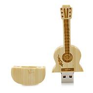 Neutro prodotto Wooden Guitar 8GB USB 2.0 Resistente agli urti