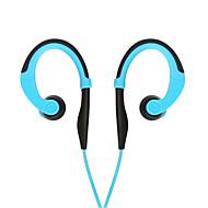öronkrok in-ear Wired stereo sport hörlurar R100 Antishock sweatproof köra hörlurar med mikrofon