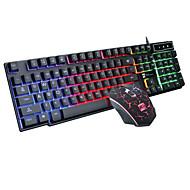 mechanisch toetsenbord licht usb-kabel schorsing toetsenbord van de computer muis toetsenbord suits
