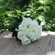 1 1 Afdeling Polyester Roser Bordblomst Kunstige blomster 39.88(15.7'')