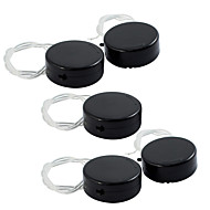 5PCS Double CR2032 Battery / Battery Box Seat Installed 2 Grain 2032 Circular Button Battery With Toggle Switch