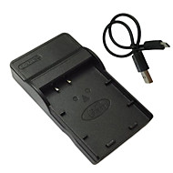キヤノンLP-E17のEOS立方メートル750D 760dためlpe17マイクロUSBモバイルカメラのバッテリー充電器