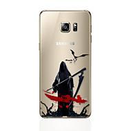 Dla Samsunga galaxy s7 krawędzi s6 krawędzi plus halloween ultra cienka tylna obudowa tpu