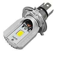 Jiawen 12W motorfiets led koplampen cob h4 lamp voor motor utv hoge dimlicht dc 12v