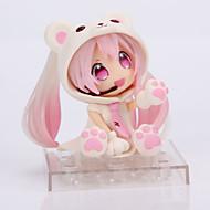 Rysunki Anime akcji Zainspirowany przez Cosplay Snow Miku PVC (polichlorek winylu) 14 CM Klocki Lalka Zabawka