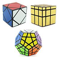 Shengshou® Sima Speed Cube Alien / Megaminx / Skewb szakmai szint Stresszoldó / Rubik-kocka Pink / Zöld sima matrica /Anti-pop /