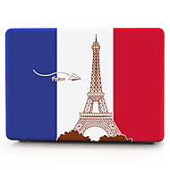 vlag van frankrijk patroon macbook computer case voor de MacBook air11 / 13 pro13 / 15 pro met retina13 / 15 macbook12