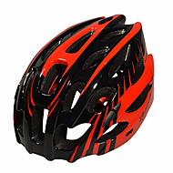 男性用-サイクリング / マウンテンサイクリング / ロードバイク-マウンテン / ロード / スポーツ-ヘルメット(グリーン / レッド / ブルー,EPS)サイクリング / マウンテンサイクリング / ロードバイク 28 通気孔