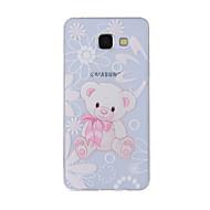 Mert Minta Case Hátlap Case Állat Puha TPU mert Samsung A8(2016) / A5(2016) / A3(2016) / A8 / A7 / A5 / A3