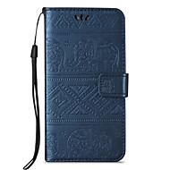 Pro Peněženka / Pouzdro na karty / se stojánkem / Flip / Vytlačený vzor Carcasă Oboustranný Carcasă Slon Pevné PU kůže pro Samsung