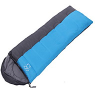 Sleeping Bag Rectangular Bag Single 20 T/C Cotton 1800g 210X80 Camping / TravelingMoistureproof/Moisture Permeability / Breathability /