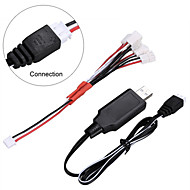 Mjx X101 x600 RC USB charger 5 in1 7.4 V for quadcopter drone main replacement of spare parts