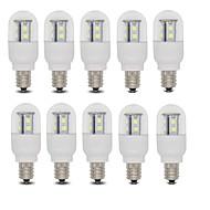 3W E14 / E12 LED-pallolamput T 15 SMD 2835 385 lm Lämmin valkoinen / Kylmä valkoinen AC 220-240 V 10 kpl