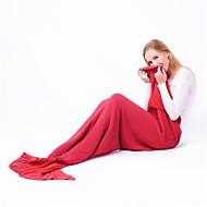 Κουβέρτα ταξιδίου για Αξεσουάρ αποσκευών Ξεκούραση για ταξίδια Αντικουνουπικά Polyester-Τριανταφυλλί Κόκκινο Μπλε Ροζ Σκούρο μωβ