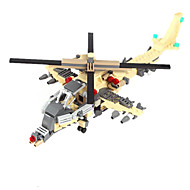 Action Figures & Stuffed Animals / Building Blocks For Gift  Building Blocks Model & Building Toy Tank / Warship / Fighter / Helicopter