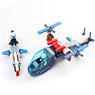 Action Figures & Stuffed Animals / Building Blocks For Gift  Building Blocks Model & Building Toy Aircraft / Fighter ABS5 to 7 Years / 8