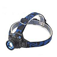 Hodelykter / sykkel glødelamper LED 280-350 Lumens Modus Cree XM-L T6 Lithium Batteri Vandtæt / Super LettCamping/Vandring/Grotte