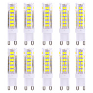 9W G9 2-pins LED-lampen T 75 SMD 2835 600-800 lm Warm wit / Koel wit Decoratief AC 220-240 V 10 stuks