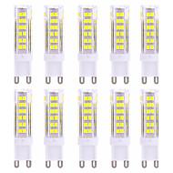 9W G9 LED Φώτα με 2 pin T 75 SMD 2835 600-800 lm Θερμό Λευκό / Ψυχρό Λευκό Διακοσμητικό AC 220-240 V 10 τμχ