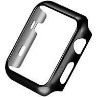 リンゴの時計シリーズ2の元HOCO豪華な超薄型輝く輝きプラスチックメッキカバーケース