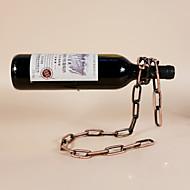 Vinreoler Støbejern,24*14*19.5CM Vin Tilbehør