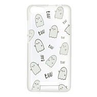 Voor wiko lenny 3 zonsondergang 2 case cover boo patroon achterkant zacht tpu lenny 3 zonsondergang 2
